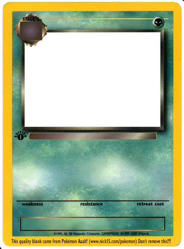 Make your own pokemon card http pa4 pokemonaaah net pokemon 2 fake